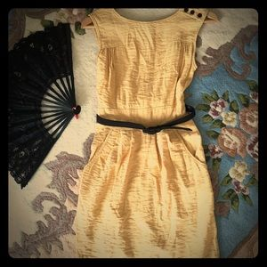 Dresses & Skirts - Yellow Mod Dress size XS